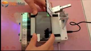 How to Apply Cell Phone / Tablet Screen Film Bubble-Free with 8-ich Screen Film Attach Machine