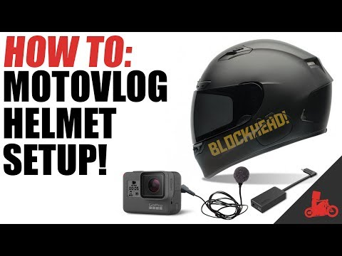 How To: Motovlog Helmet Setup!