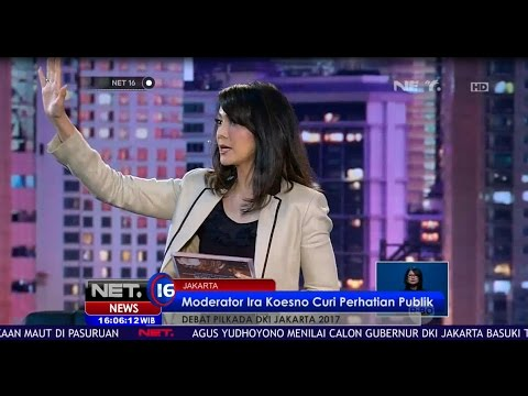 Moderator Ira Koesno Curi Perhatian Publik - NET 16 Mp3