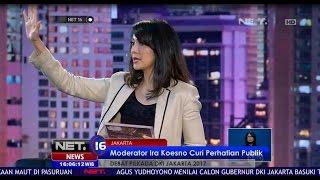 Moderator Ira Koesno Curi Perhatian Publik - NET 16