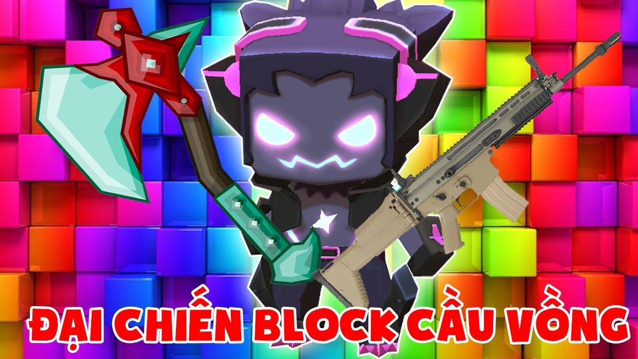 MINI GAME : ĐẠI CHIẾN ĐÀO BLOCK CẦU VỒNG