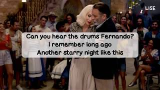 Mamma Mia! Here We Go Again - Fernando (Lyrics Video)