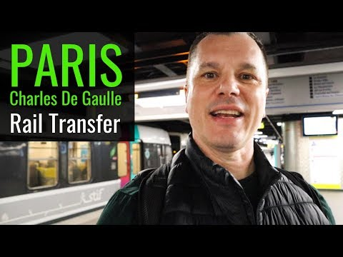 Train From Charles De Gaulle Airport To Paris