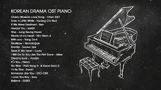 Video Korean Drama OST Piano 2018 | Best of OST Piano Songs download MP3, 3GP, MP4, WEBM, AVI, FLV September 2019