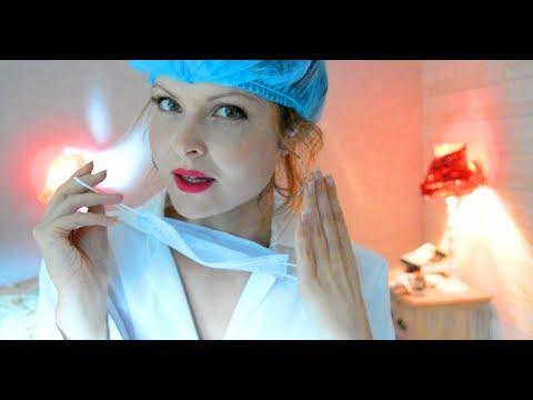 Je soigne ton ASMR ( ROLEPLAY MEDECIN, FRANÇAIS) EAR CLEANING DOCTOR role play