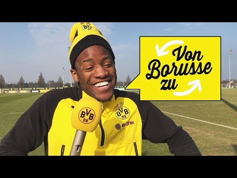"Your 09 Questions for Michy Batshuayi | ""From Borusse to Borusse"" 