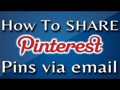 How to Share Pinterest Pins And Images Via Email