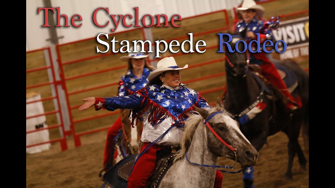 Video 150 Seconds From Isu S Cyclone Stampede Rodeo Youtube