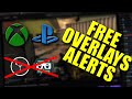 Gambar cover FREE Twitch Alerts and Overlays for XBOX/PS4 Console Streamers Without OBS/SLOBS or Capture Card!