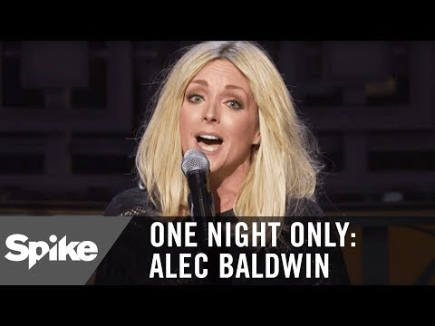 Jane Krakowski Sings an Original  in Tribute to Alec Baldwin  One Night Only: Alec Baldwin