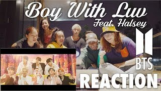 BTS (방탄소년단) '작은 것들을 위한 시 (Boy With Luv) feat. Halsey' | Reaction by dB Dance & Cider Dance