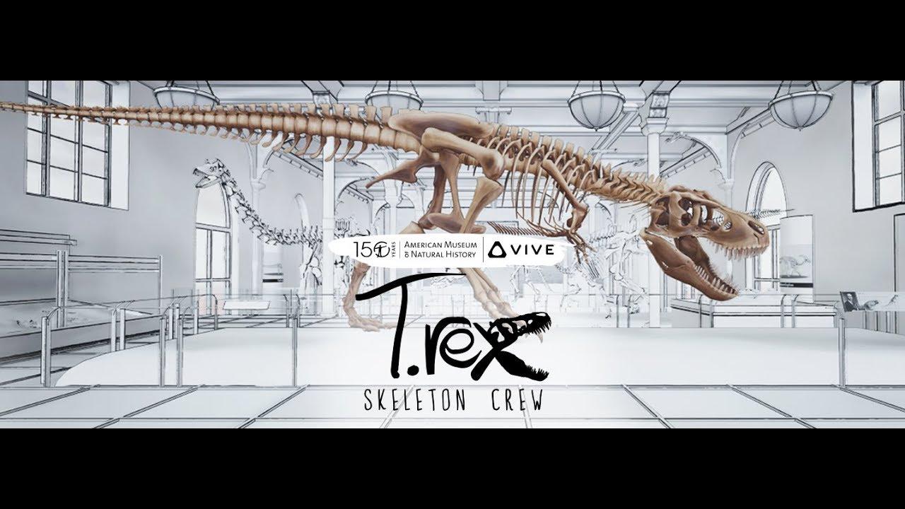 HTC Vive ile T.rex evinize geliyor