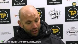 SALE v SAINTS Jim Mallinder preview