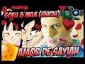 GOKU & MILK (CHICHI) RAP - IVANGEL MUSIC | AMOR DE SAYIAN | RAP DE AMOR