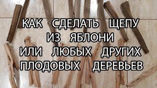 видео Щепа из дерева