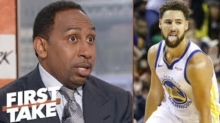 Klay Thompson to Lakers rumors: Warriors say \'no way in hell\' - Stephen A. Smith | First Take