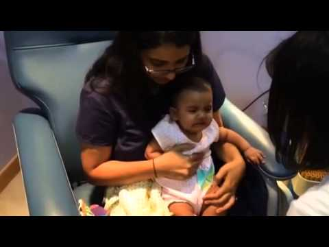 Sneha 6 Month Vaccination