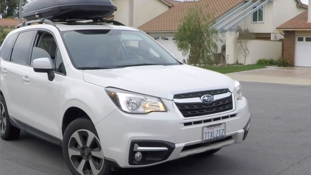 2017 Subaru Forester 2.5i Premium - Detailed Review and ...