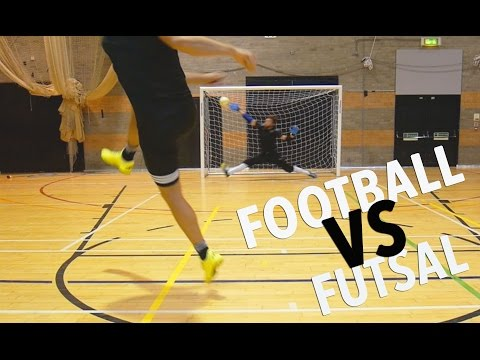 FOOTBALL VS FUTSAL - EPIC BATTLE