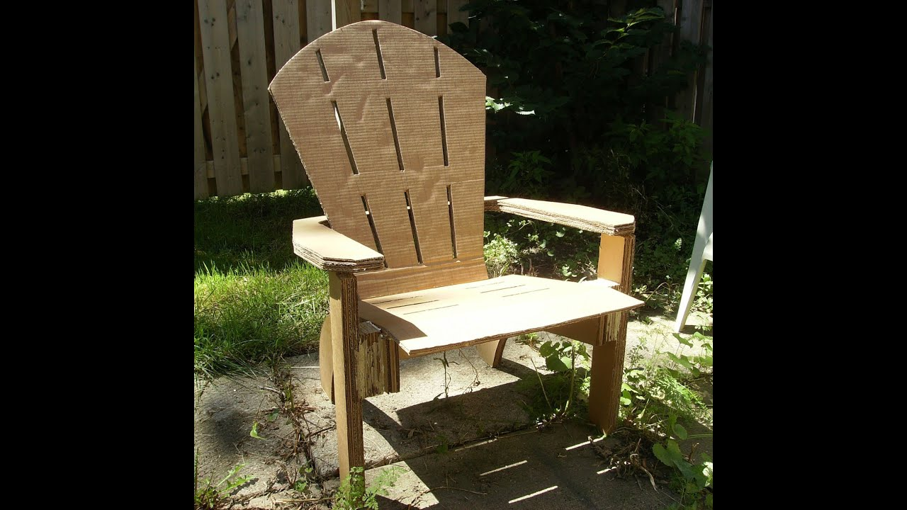 Cardboard rocking chair - Cardboard Rocking Chair 43