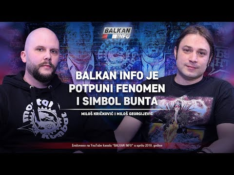 AKTUELNO: Mortal Kombat - BALKAN INFO je potpuni fenomen i simbol bunta! (4.4.2019)