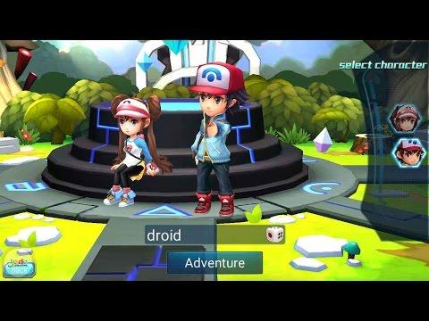 Онлайн игра Pokemon на Android с открытым миром! Game of Monster (Pokeland Legend)  3D!