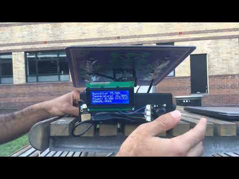 Weather station (solar tracking) GROUP 34
