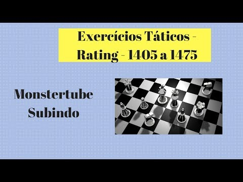 Treinando Tática - rating 1405 a 1475