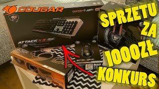 COUGAR - 1000zł Sprzętu Gamingowego UNBOXING i KONKURS