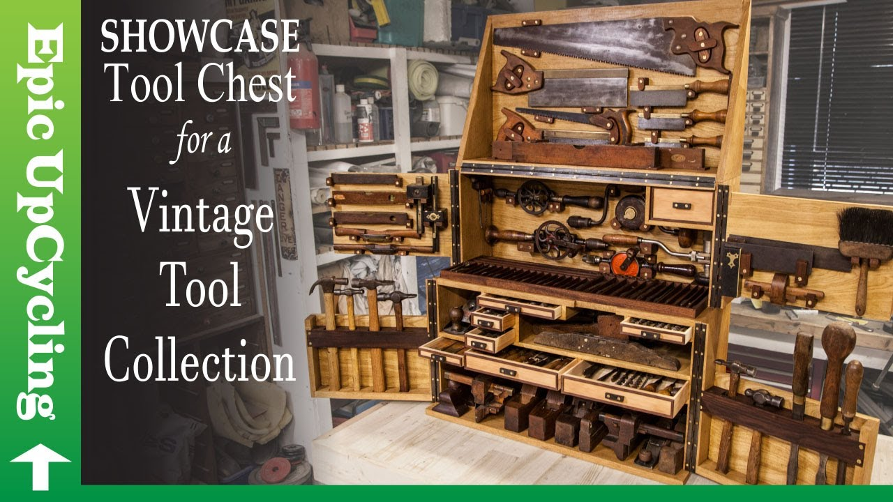 Building a Tool Chest out of Scrap for an Antique Tool Collection