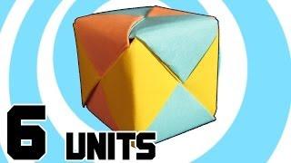 Модульне Орігамі Куб 6 Одиниць Сонобэ - Інструкції
