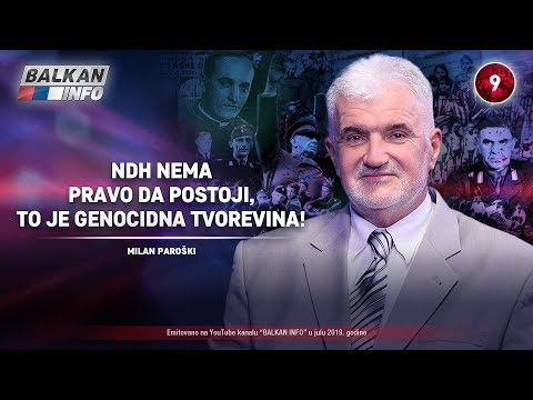 INTERVJU: Milan Paroški - NDH nema pravo da postoji, to je genocidna tvorevina! (2.7.2019)