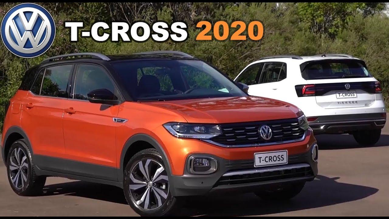 volkswagen t-cross 2020 em detalhes