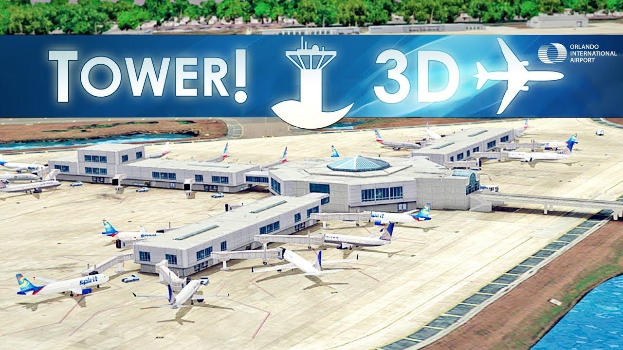 Tower!3D Pro - Orlando International Airport