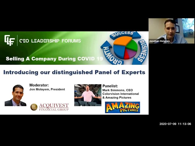 CEO Leadership Forums Webinar-