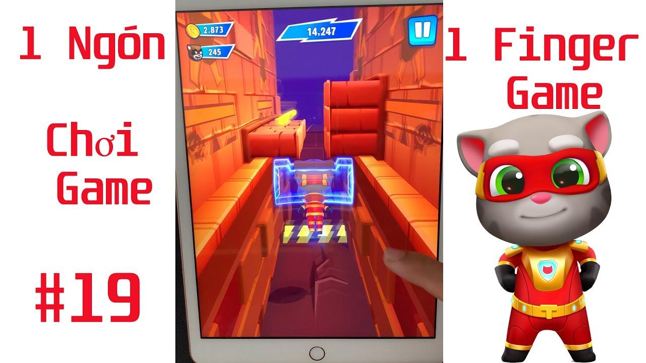 Chơi Game Bằng 1 Ngón #19 , Tom Hero Dash Game