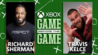 Xbox Sessions: Game Before the Game (Ft. Travis Kelce & Richard Sherman)