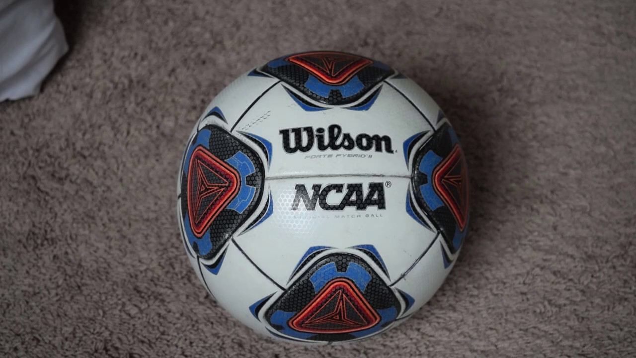 Wilson NCAA Forte Fybrid II - match ball review - YouTube 883591308