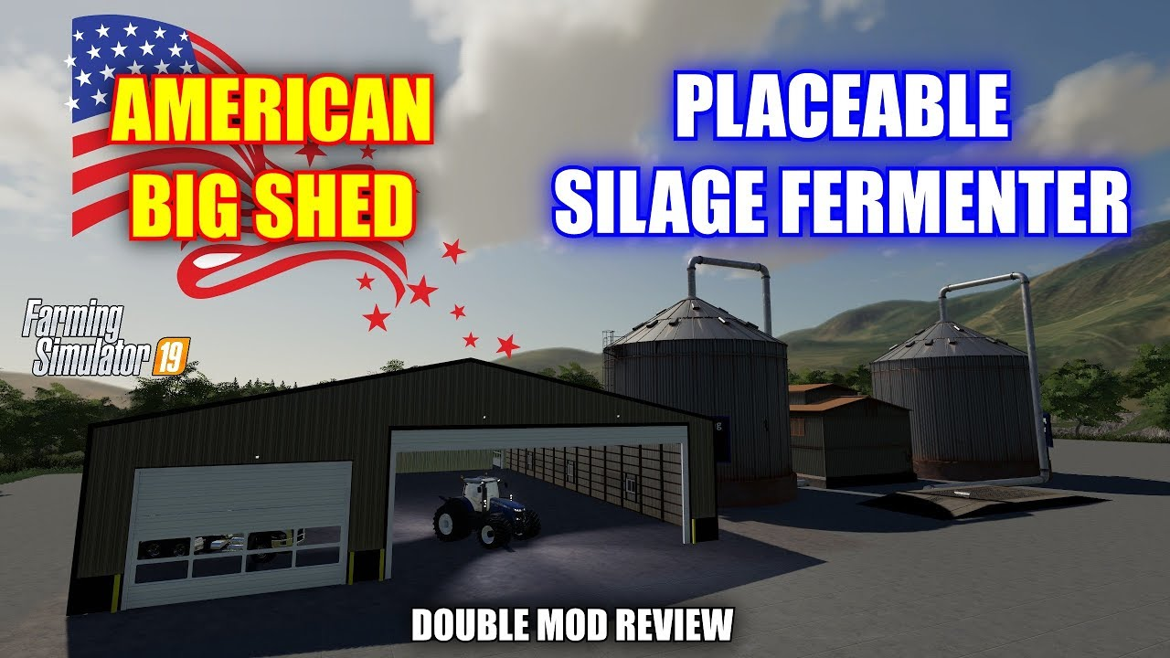 American Big Shed & Placeable Silage Fermentor Mod Review