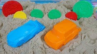 또봇 모래놀이 장난감 만들기 아이와샌드 Tobot Sand Play Car Toys