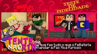 Minecraft: TESTE DE FIDELIDADE! (Tente Não Rir)