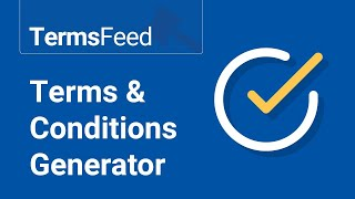 Terms & Conditions Generator Mp3