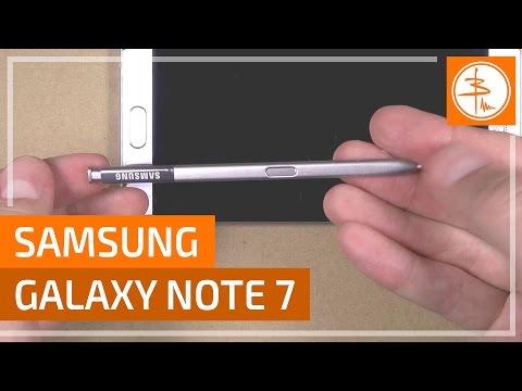 Samsung Galaxy Note 7 - обзор, фишки и секреты