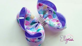 Boutique Estillo 🎀 Ribbon Bow Tutorial 🎀 DIY by Elysia Handmade