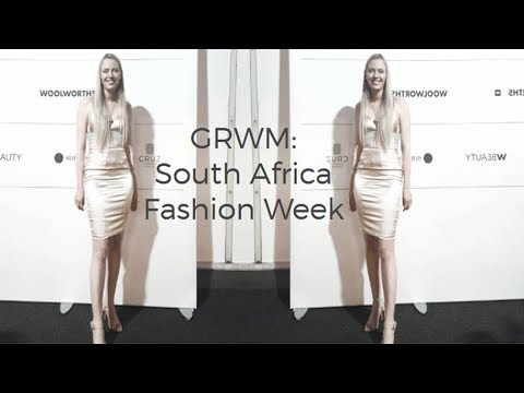 Get Ready With Me | South Africa Fashion Week | All Neutrals