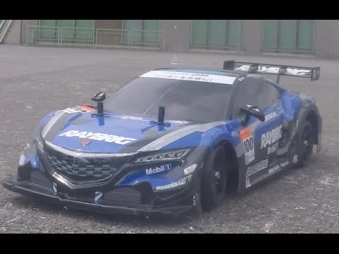 Tamiya Tt 02 Honda Nsx Raybrig Drift Youtube