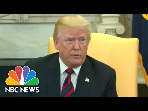 President Donald Trump On China Trade Talks: 'There Is No Deal' | NBC News