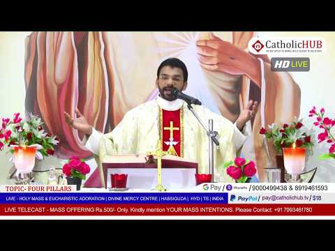 SUNDAY HOLY MASS & WORD OF GOD | REV.FR.BENNY SVD | DMC | HABSIGUDA | HYD | TS | IND 03-05-2020
