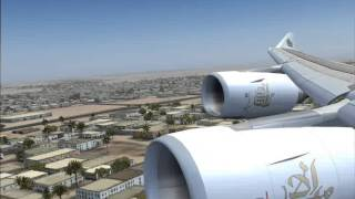 EK 625 lahore airport to dubai international airport Airbus A340
