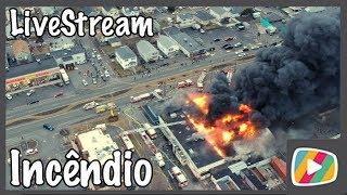 LiveStream com o Drone: Incêndio em Revere-MA nos EUA 17/02/2018